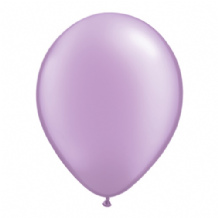 "Qualatex 11 inch Balloons - Pearl Lavender 11"" Balloons (Pastel 25pcs)"